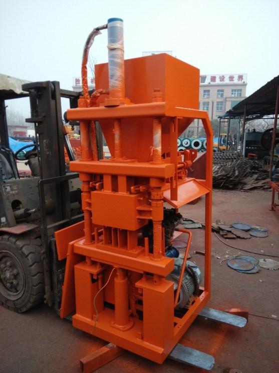 New Design Construction Machine Brick Molding Machine