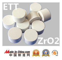 White and Black Zro2 Zirconium Dioxide Evaporation Material