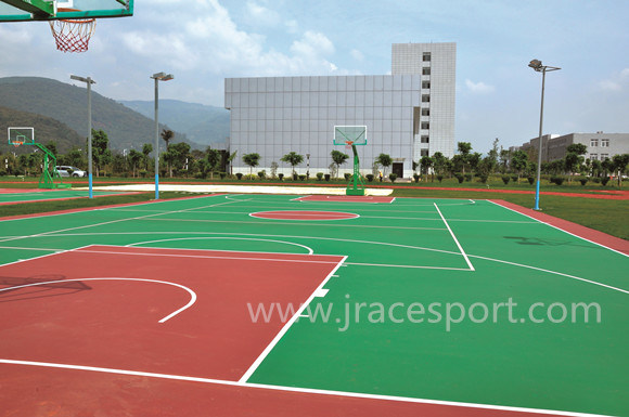 High-Performance UV Resistance Tennis Court Flooring
