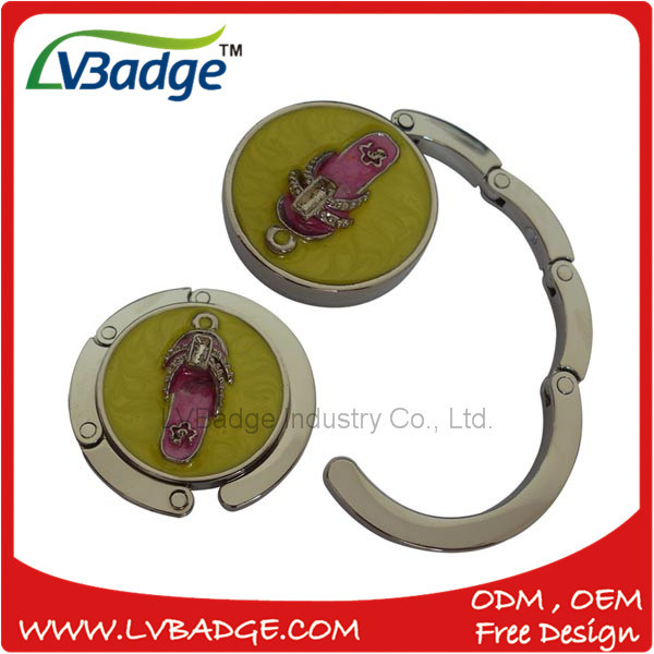 Promotion Foldable Metal Purse Bag Hanger