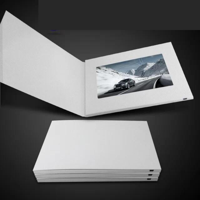 DIY 7inch Screen Advertising Video Card