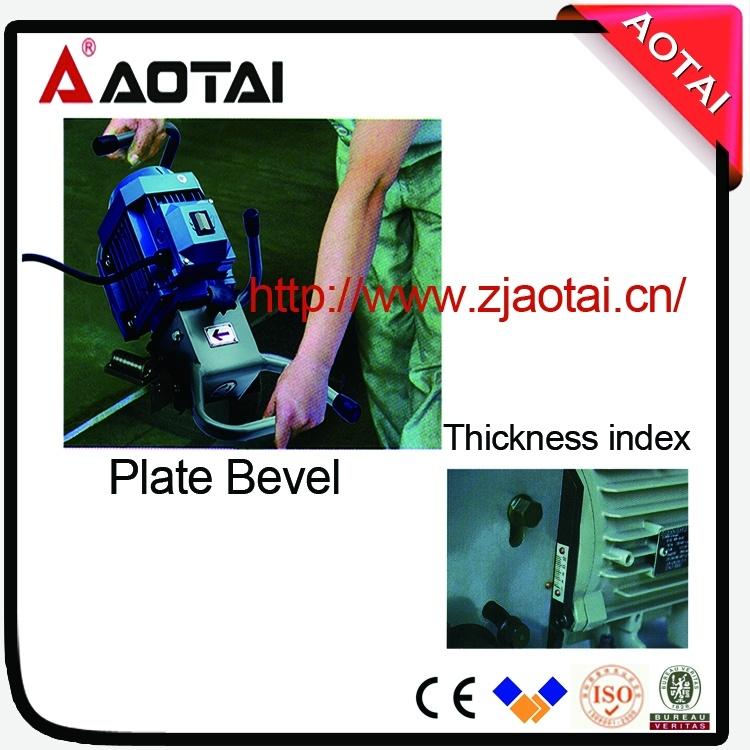Plate Steel Plate Edge Beveling Chamering Milling Machine
