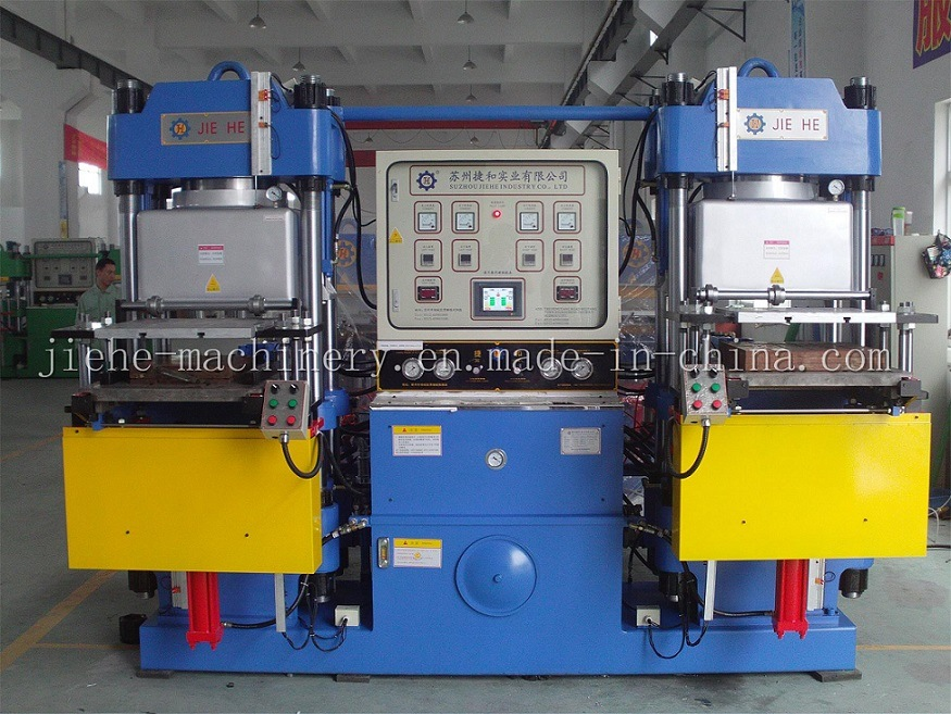 Vacuum Silicone Rubber Moulding Hydraulic Press Vulcanizing Machine