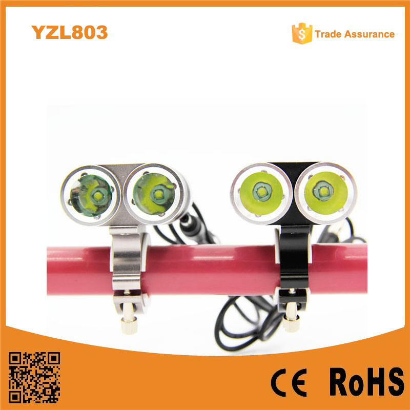 Most Powerful Rechargeable Aluminum Front Bicycle Light