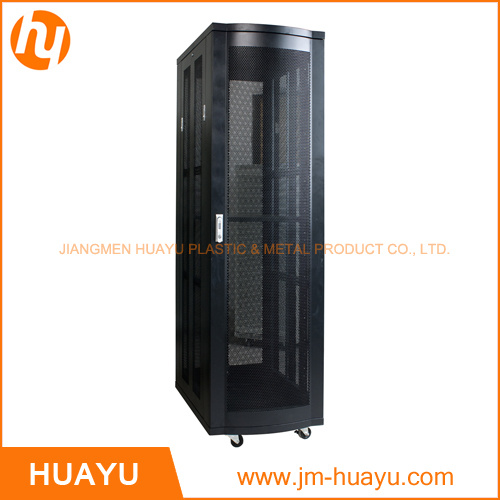 800*800*2000mm 42u Indoor Canadia Style SPCC Black Network Cabinet Server Case