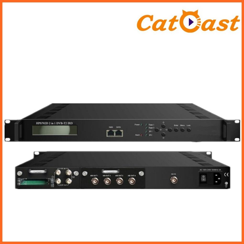 Professional IRD DVB-S2 IRD Decoder