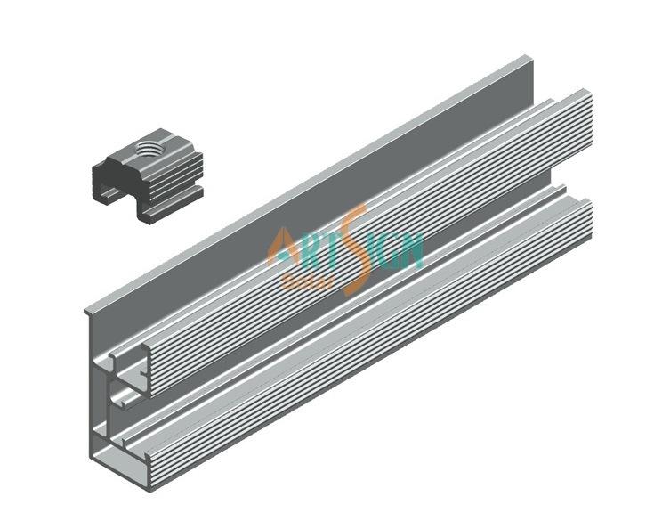 Solar Panel Support Rail