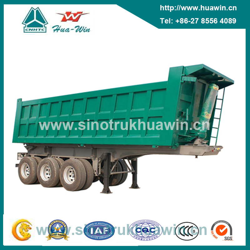 3 Axle 80 Ton Front Tipping Tipper Semi Trailer