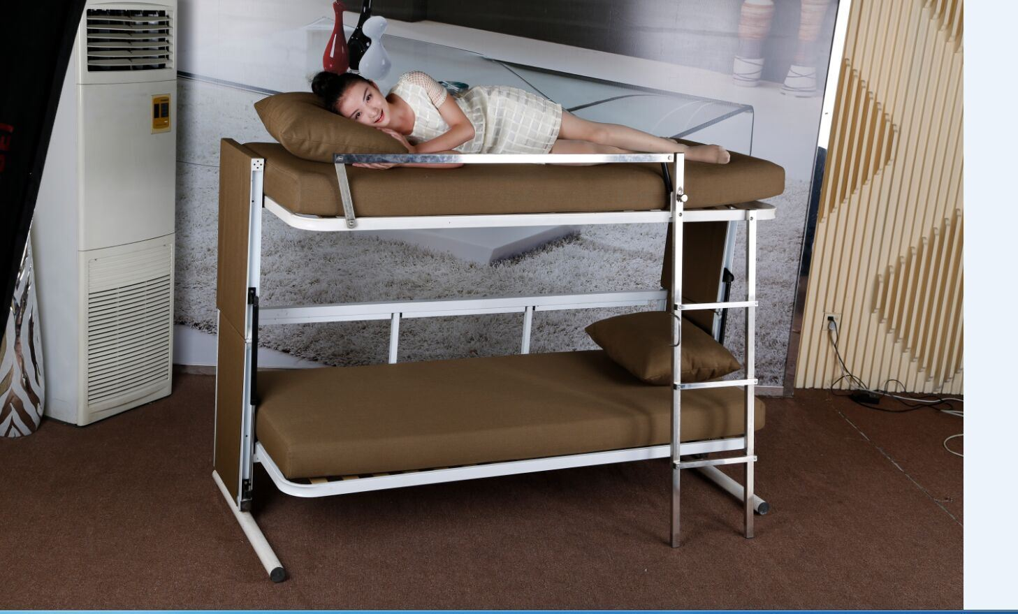 Save Space Double-Deck Sofa Bed (F138-B)