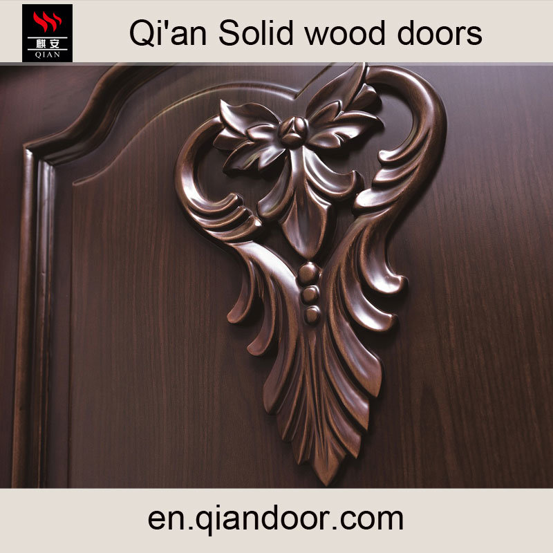 Black Walnut Solid Wood Door