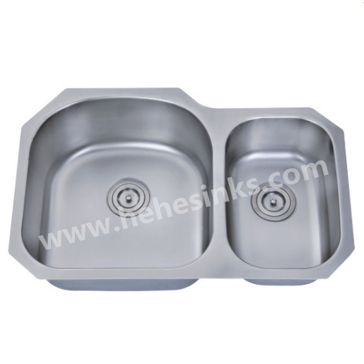 Stainless Steel Kitchen Sink with Undermount and Cupc Approved (8052AL)