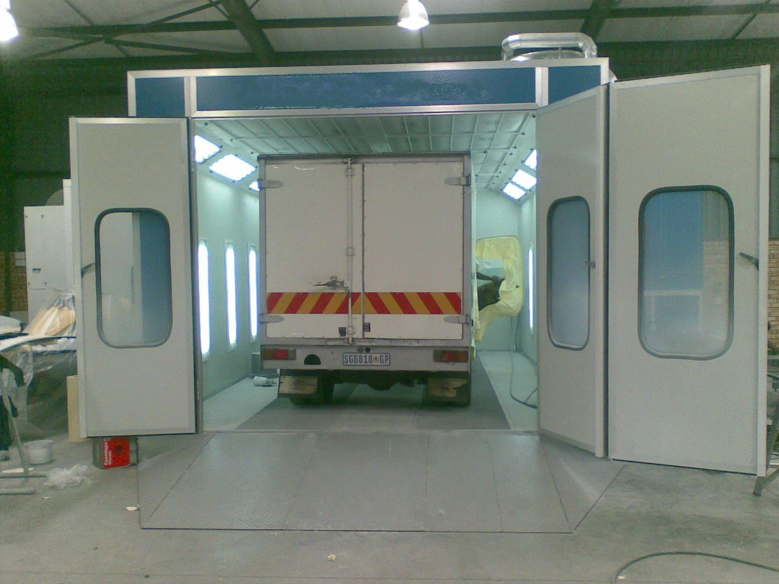 Bus Spray Booth for 12000*4500*3500 (Model: JZJ-FB-12)
