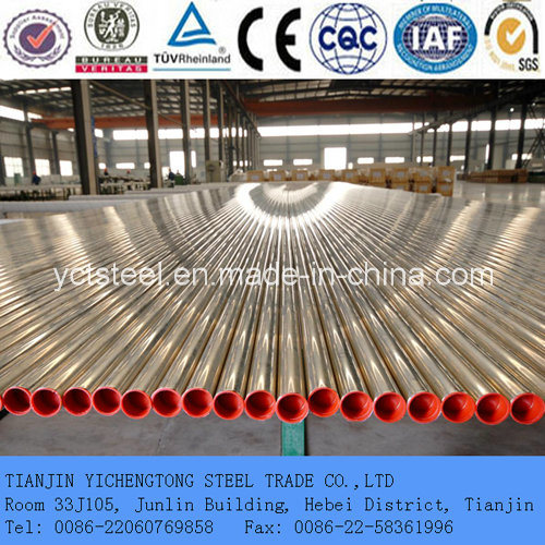 Stainless Steel Oiled Seamless Pipe for Fluid