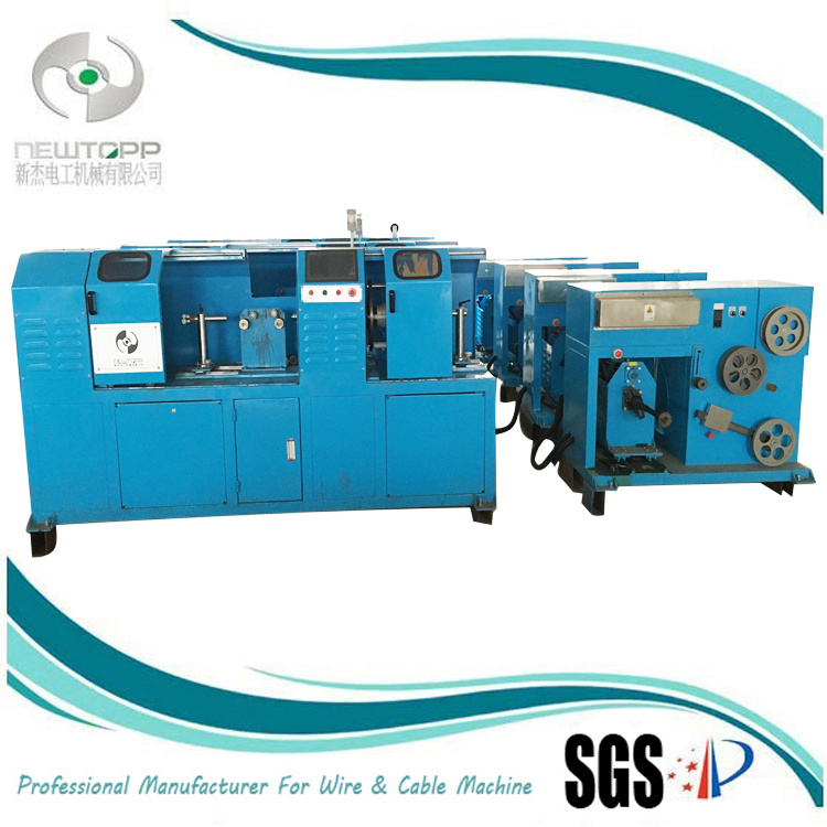 Horizontal Type Single/Double Taping and Wrapping Machine for Wire and Cable