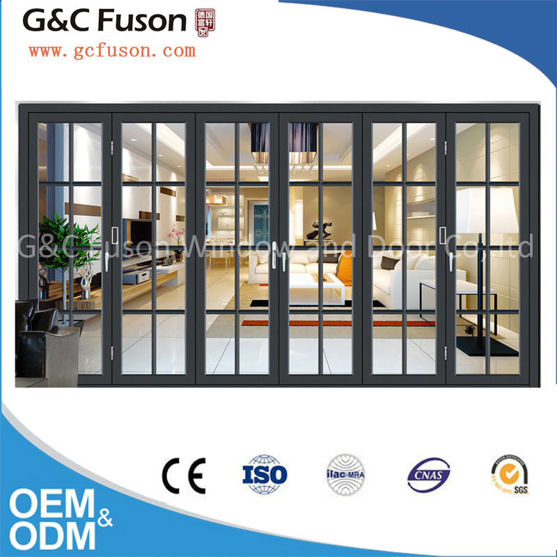 China Ready Made Large Glass Japanese Folding Door All Kinds of ...