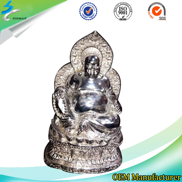 Investment Casting Metal Stainless Steel Sculpture for Home Decoration