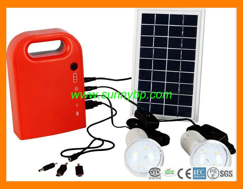 3W Portable Solar Energy Kit (Lithium battery)