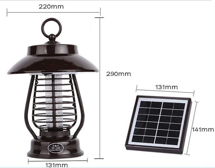 Solar Powered Insect Pest Mosquito Killer