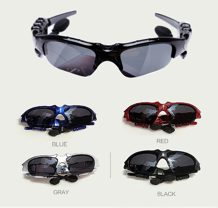 Bluetooth Headset MP3 Music Sport Sunglasses
