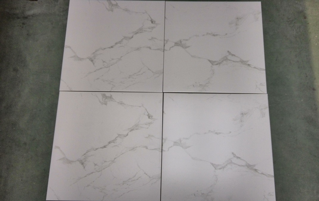 Super White Calacatta Tiles 600X1200 Matt Finished and Glossy Polished for Matching