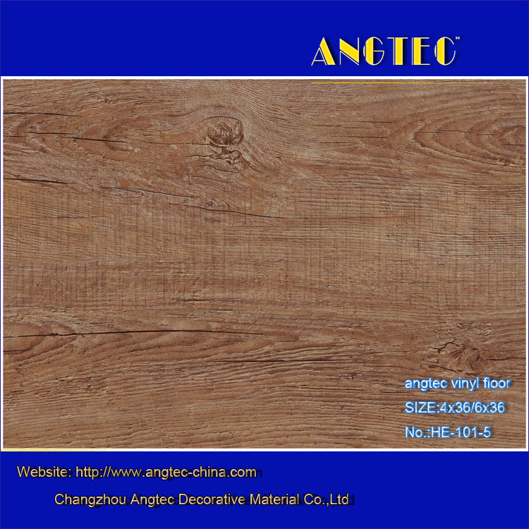 Plastic Flooring Type and PVC Material Vinyl Floor Covering