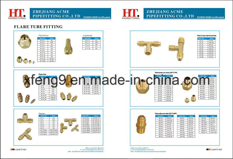 Us Standard High Quality Brass Flare Plug