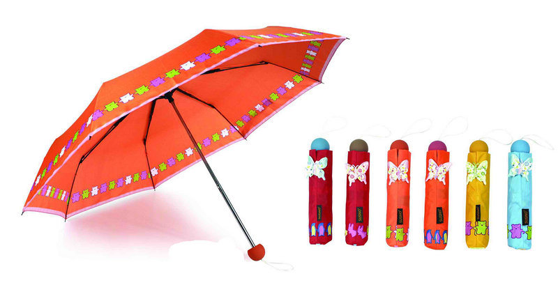 Straight Carton Printing Children Umbrella