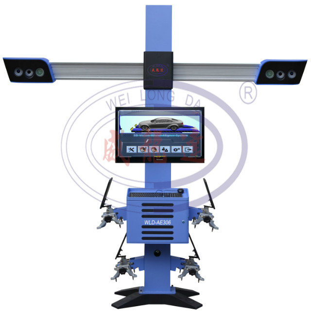 Wld-Ae306 3D Advanced Wheel Aligner Wheel Alignment with High Tech