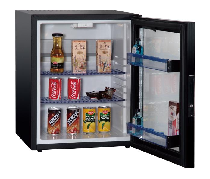 No Compression Mini Bar Fridge with Glass Door for Coca Cola Beverage Xc-38-3
