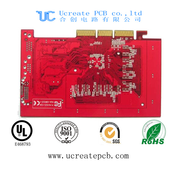 Gold Finger PCB Board and PCBA with High Technology