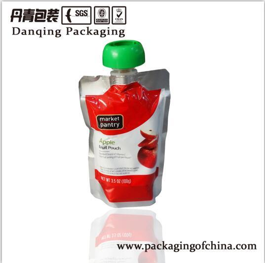 Packaging Suppiler Stand up Pouch with Spout