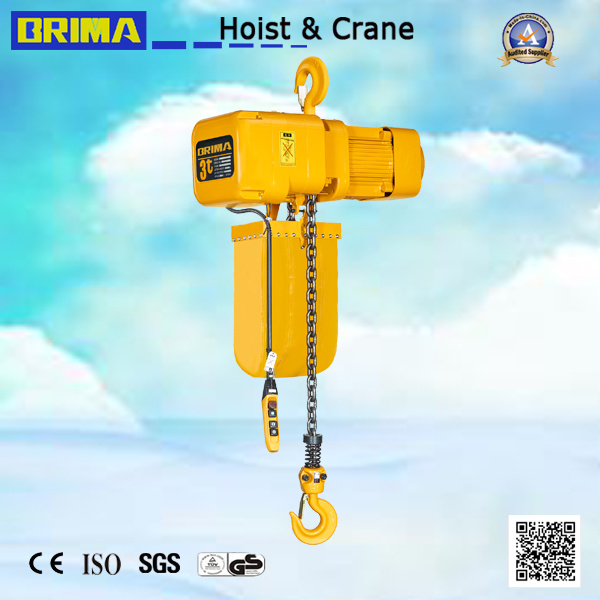 2ton Japan Type Electric Chain Hoist with Hook (BMER02-01S)