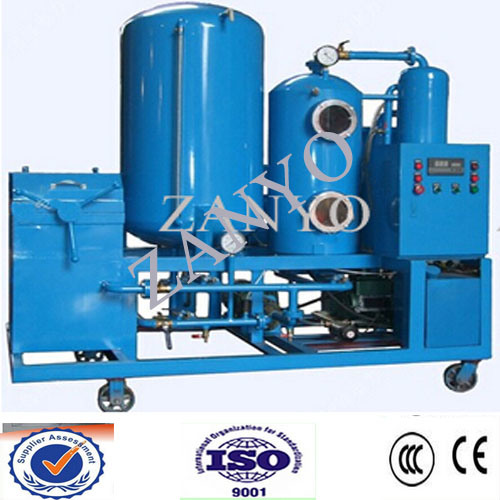 High-Ranking Vacuum Turbine Oil Purifier Online Working