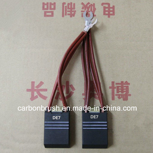 China Grade NCC634 Carbon Brushes for Motors Manufacturer in China