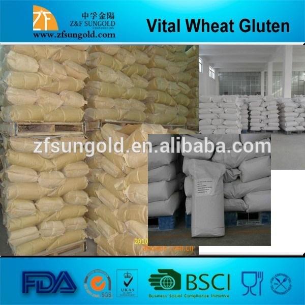 Vital Wheat Gluten Food Grade Manufacturer, Hot Sell! ! !
