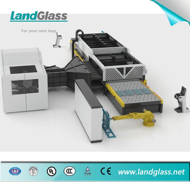 Landglass Horizontal Glass Tempering Machinery for Flat Glass