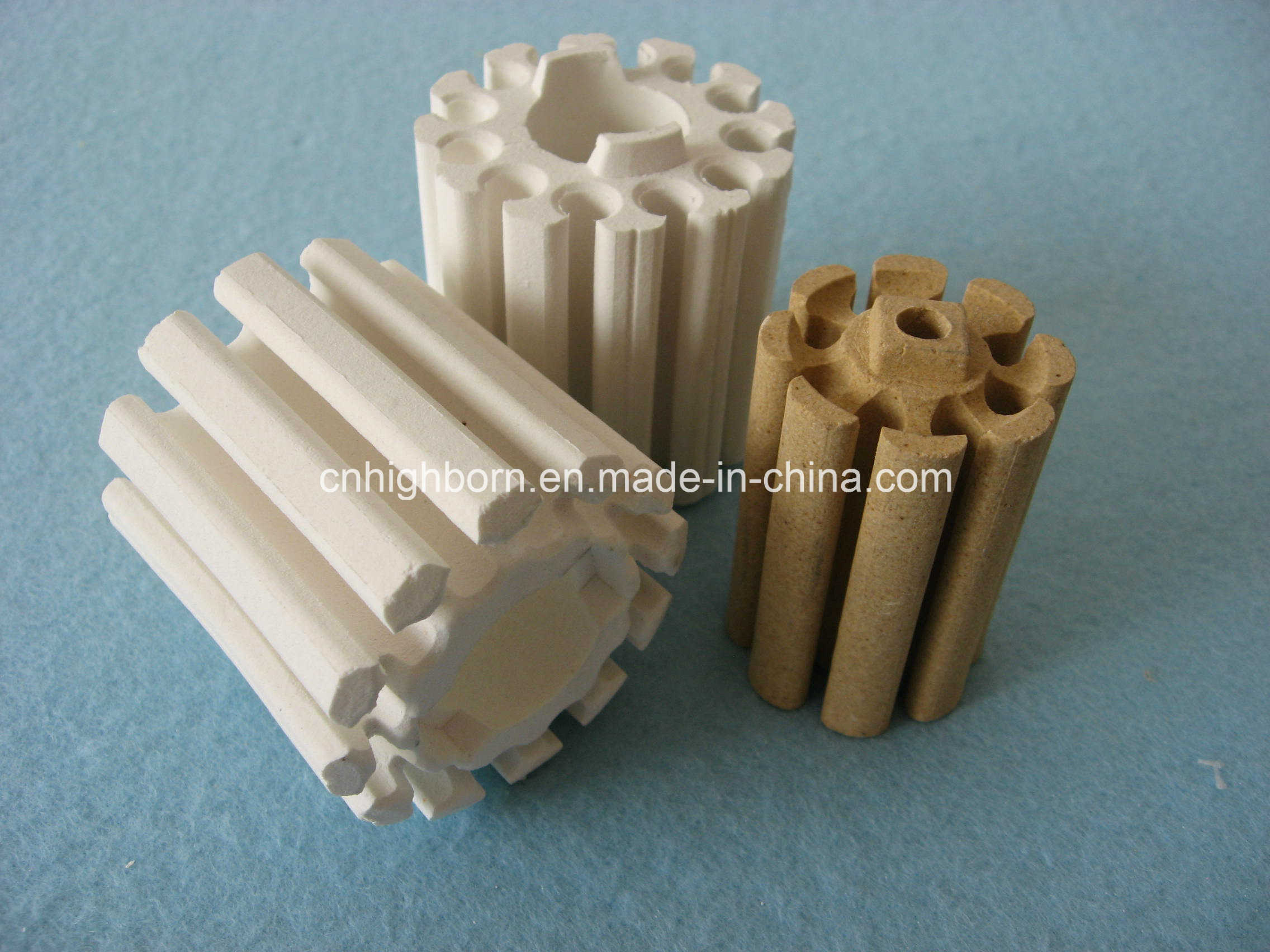 Refractory Cordierite Ceramic Bobbins Supplier