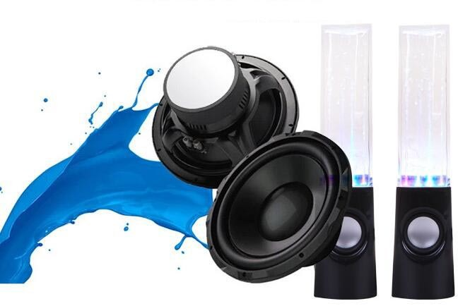 Colorful Lights Subwoofer Bluetooth Dance Music Fountain Sound Speaker