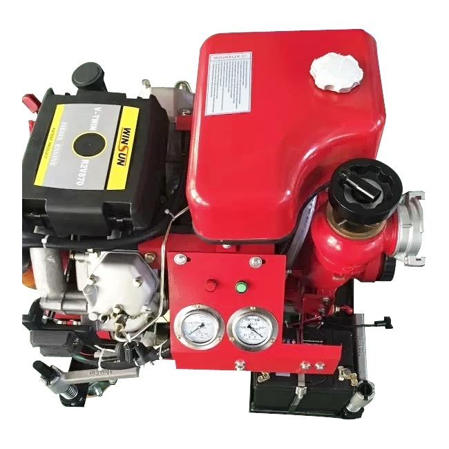 Ce Certificated 25HP Diesel Fire Fighting Pump