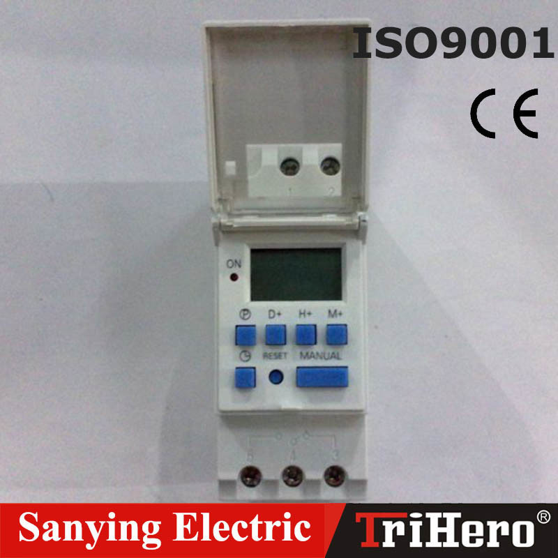15-20A 3-5phase Weekly Programmable Digital Time Switch Ahc15A