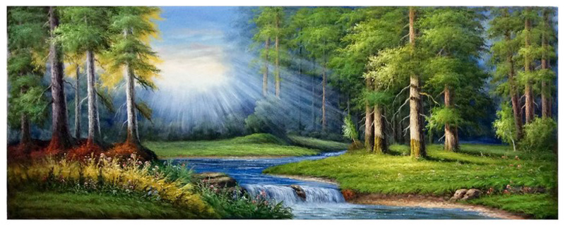 Factory Direct High Quality Landscape Oil Painting, Art Painting, Decoration Painting (Y225)