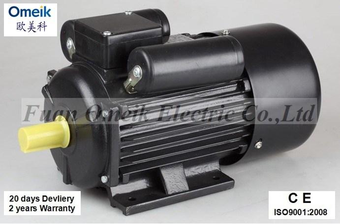 China Stock Motor Yc Series Single Phase Motor 1 2hp 5