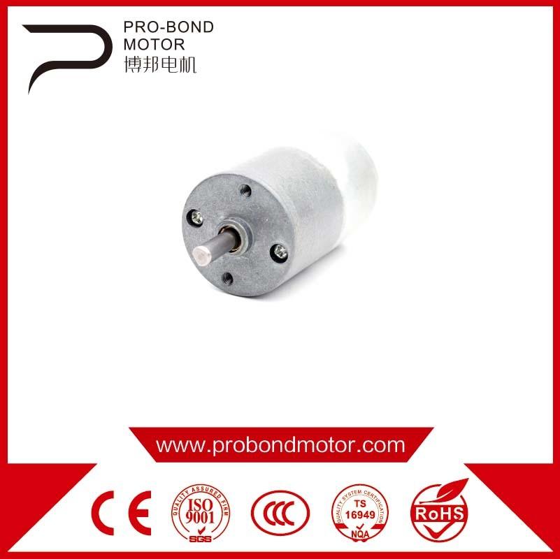 DC Permenent Magnet Gear Motor Wholesale 27zyj