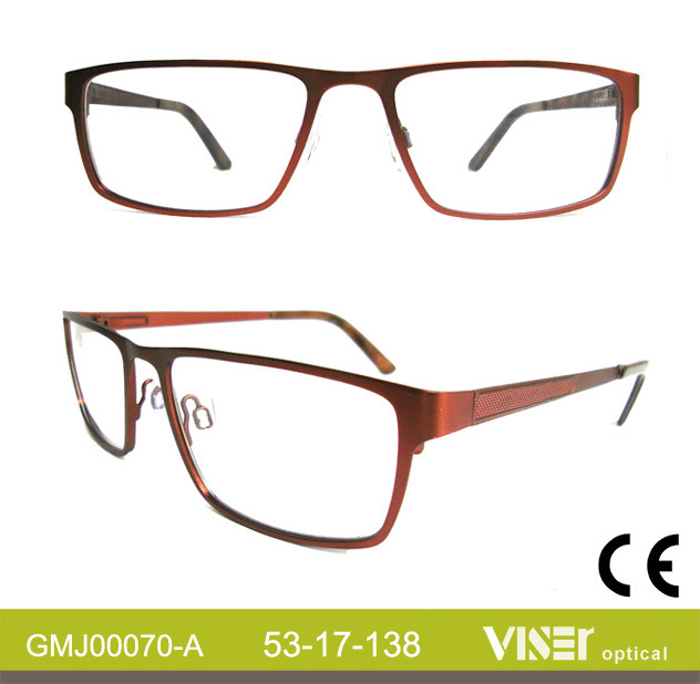 New Design Metal Optical Frames Glasses (70-B)