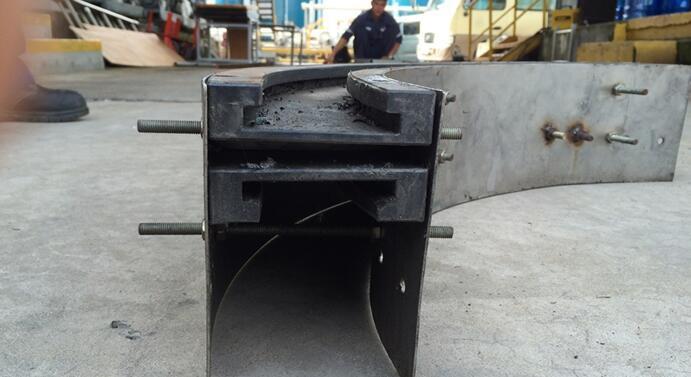 Wedge Conveyor/ Conveyor Frame / Plastic Lead Rail