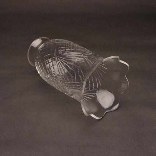 Hand Blown Cutting Texture Lighting Glass