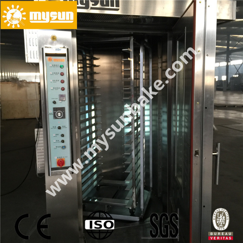 Bakery Equipment Commercial 64 Trays Gas Type Bread Rotary Baking Oven with CE