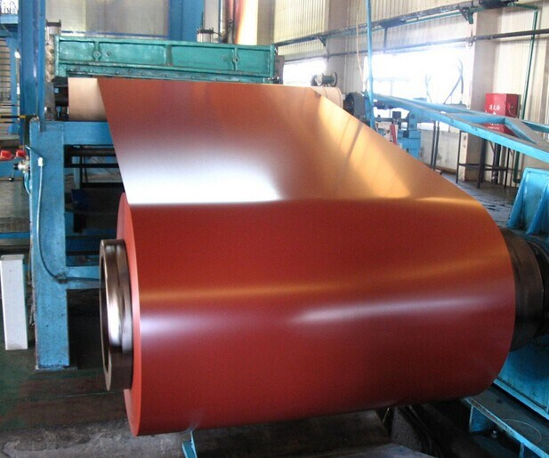 Color Coated Roofing Steel PPGI Steel Coil