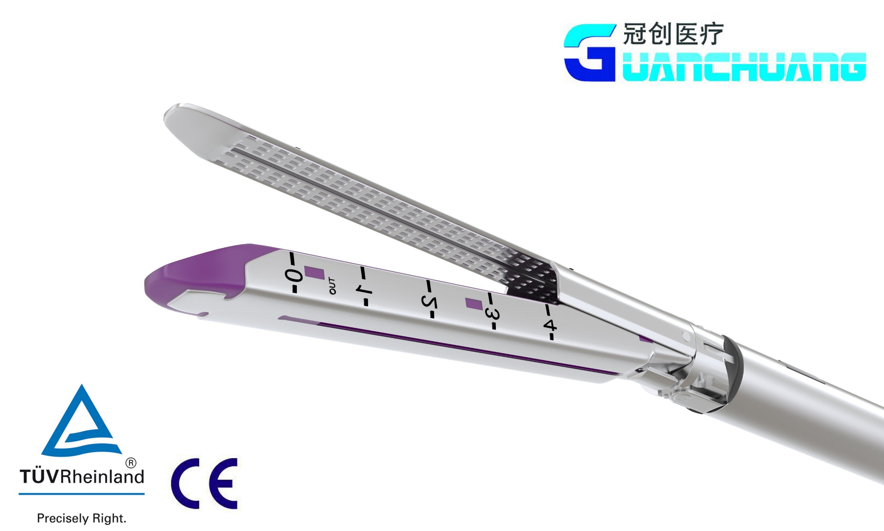 Reload for Disposable Endoscopic Cutter Stapler (purple)