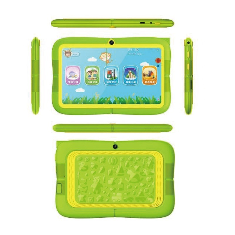 Latest Kids Tablet 7inch Quad Core 512MB+8GB Preinstalled Kids APP